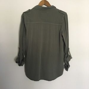 Mossimo Supply Co. Tops - Olive green button up top